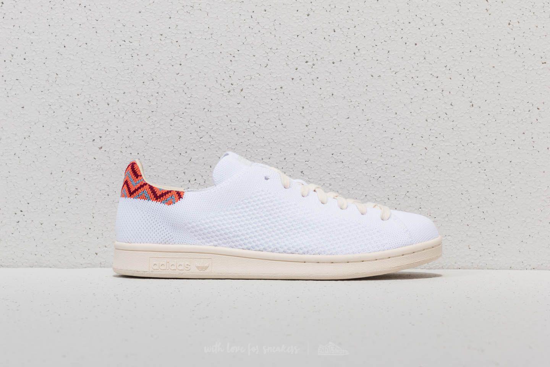 lyst adidas originali adidas stan smith primeknit ftw bianco / ftw