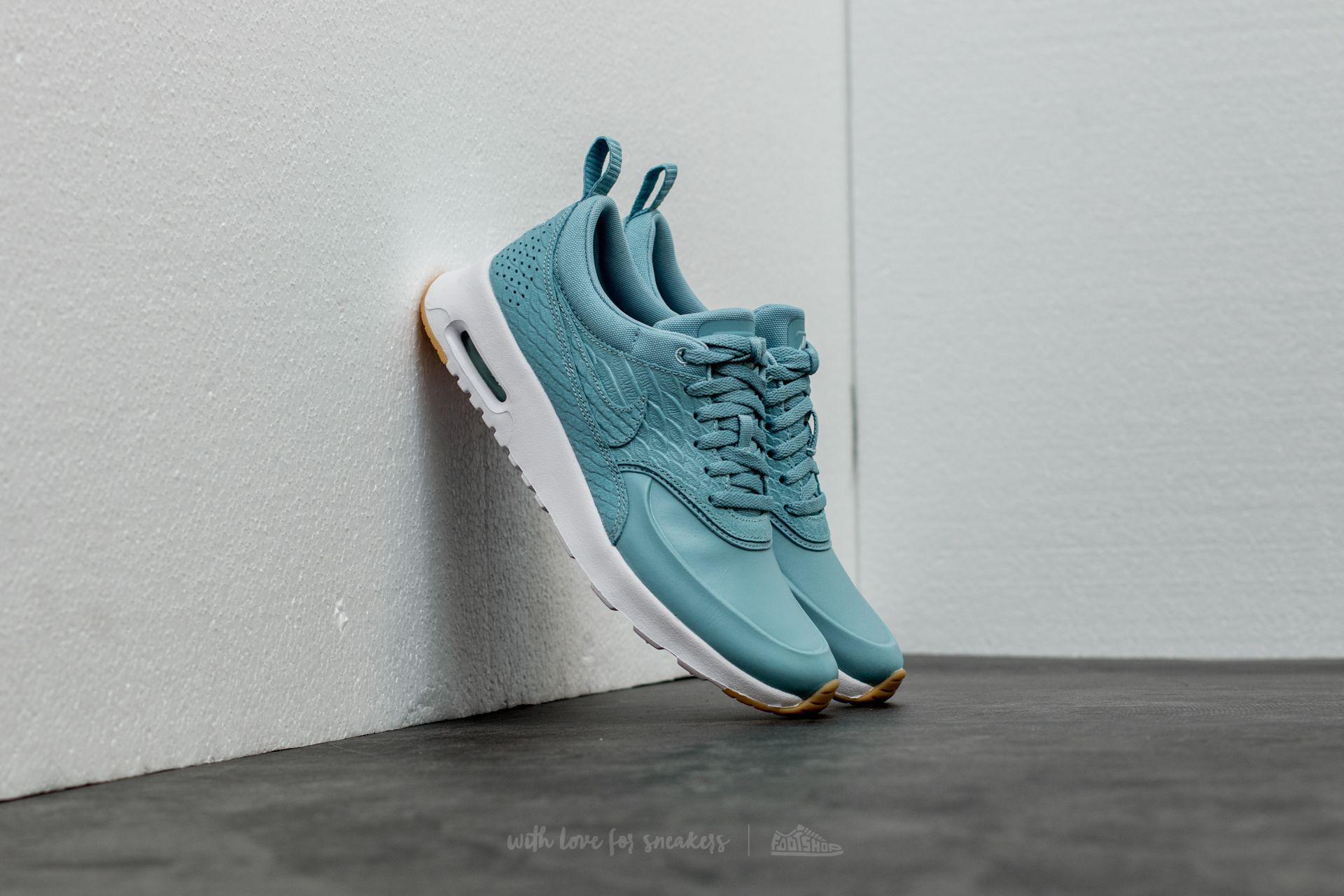 3cad33d9b8ec Lyst - Nike Wmns Air Max Thea Premium Mica Blue  Mica Blue-gum ...