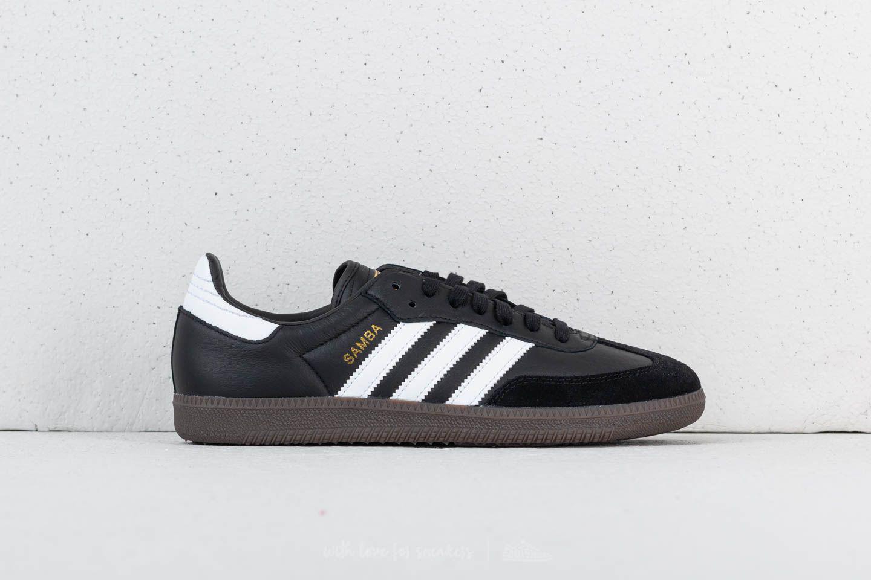 Lyst - adidas Originals Adidas Samba Fb Core Black  Ftw White  Core ... dcae6db08