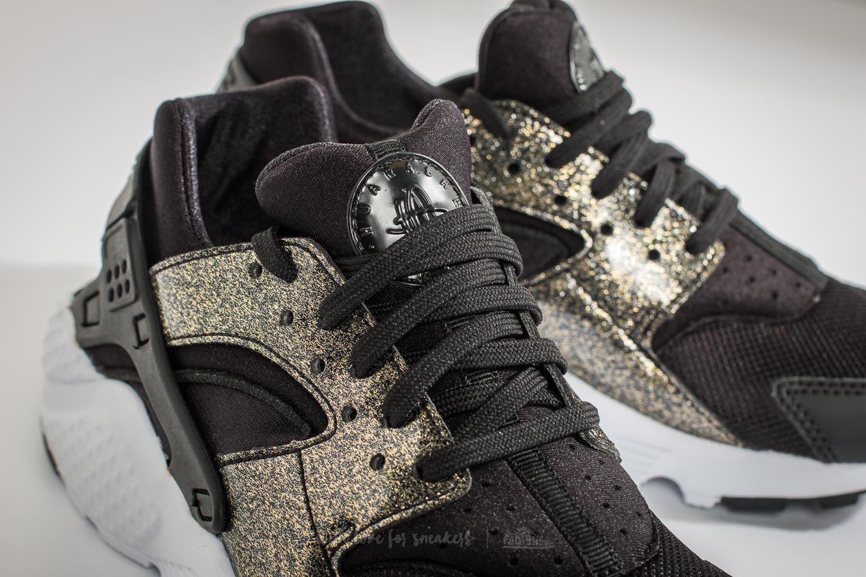 6414e88c9fa0 Lyst - Nike Huarache Run Se (gs) Black  Black-metallic Gold in Black