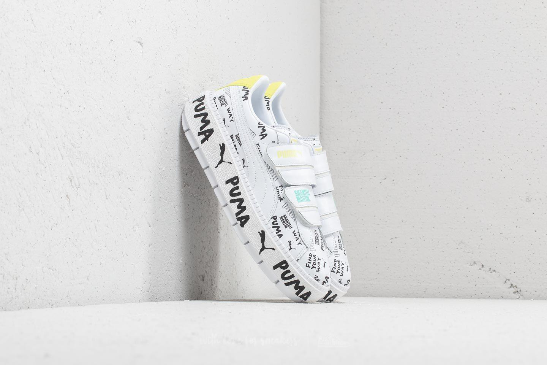 bac09adcbf0 Lyst - PUMA X Shantell Martin Platform Trace Strap White  White in White