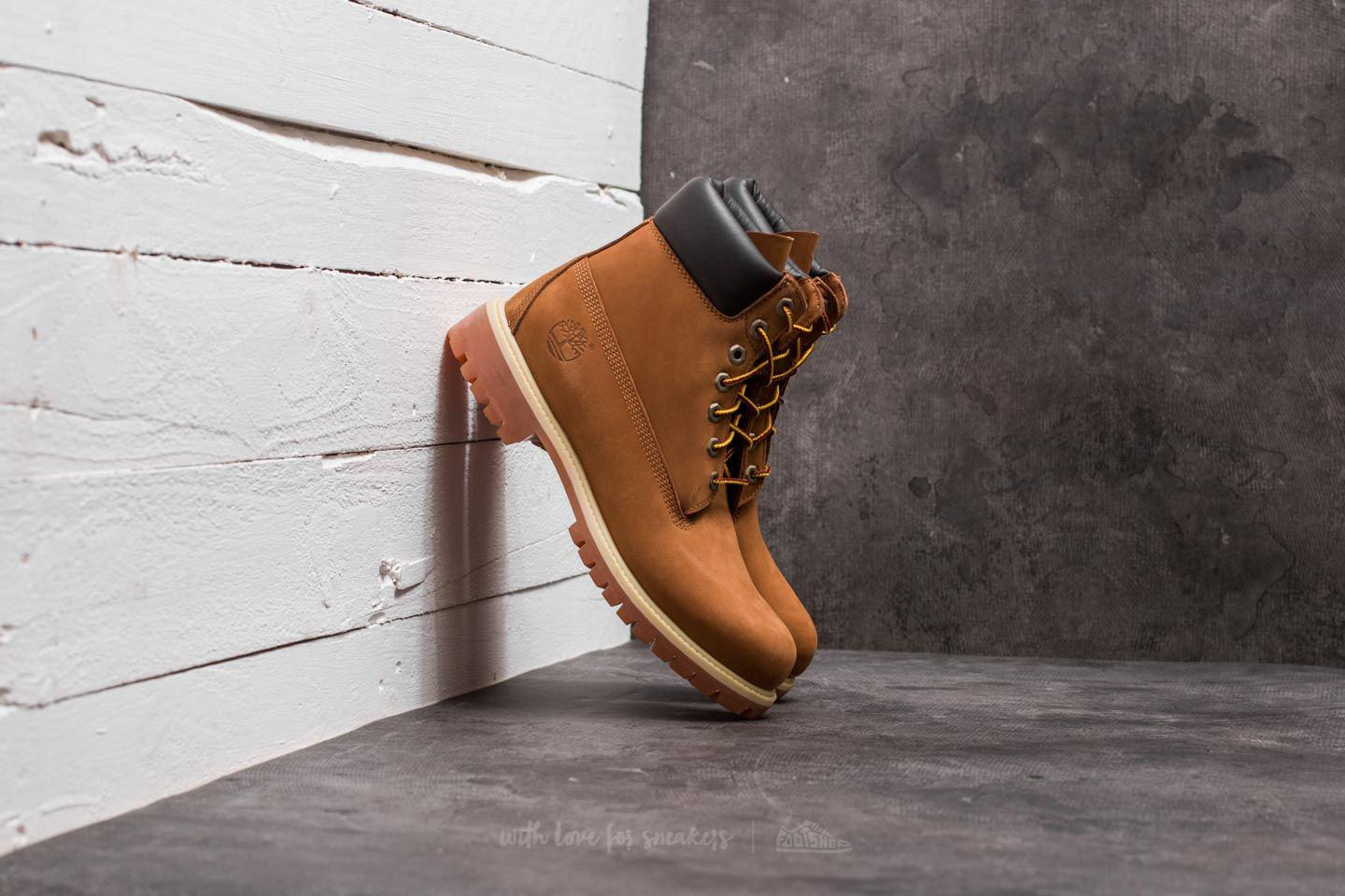 Timberland Waterproof 6-Inch Premium Boot Rust Orange tusmWb