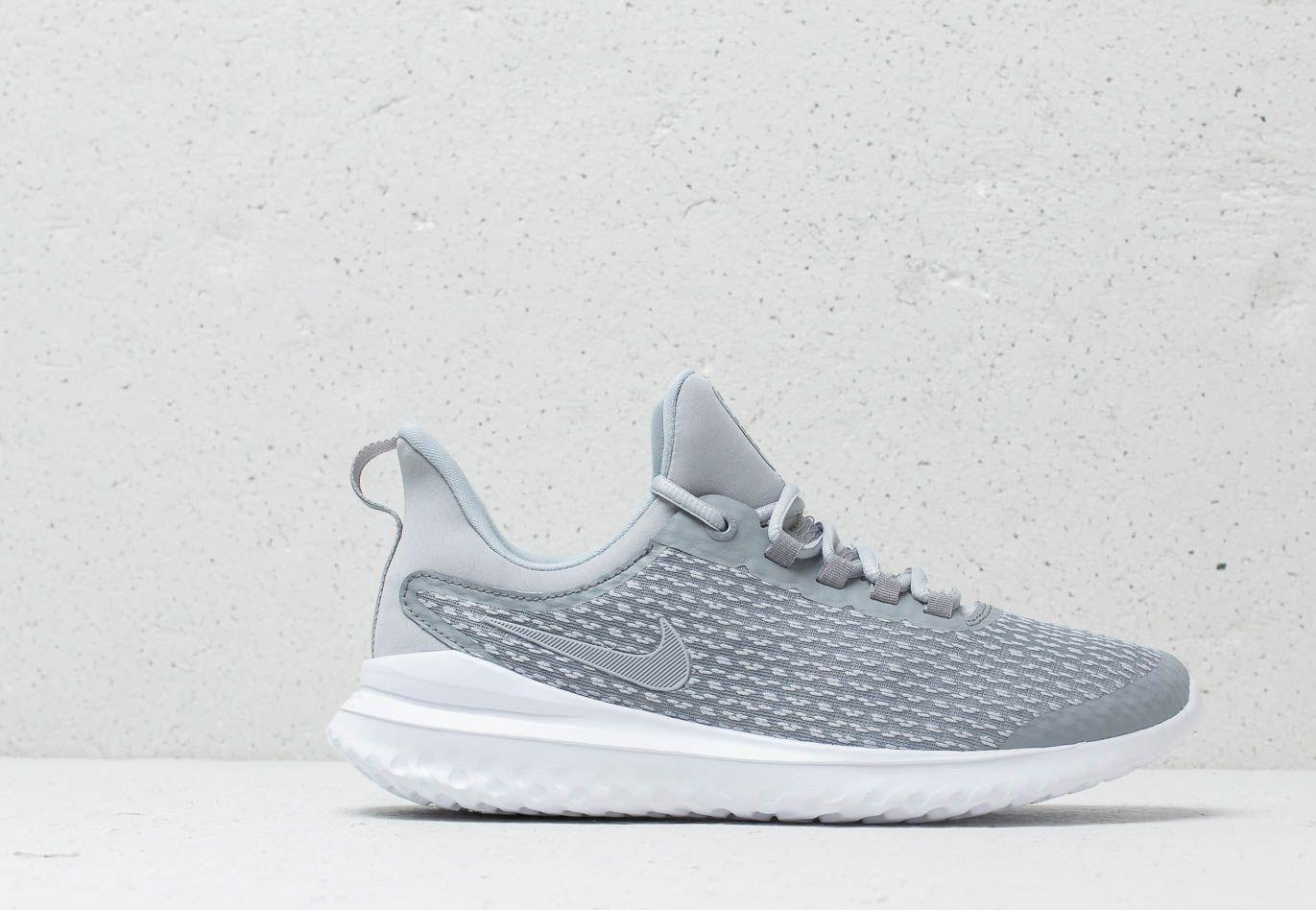 ef626329ff0 Lyst - Nike Renew Rival (gs) Stealth  Wolf Grey-white in Gray