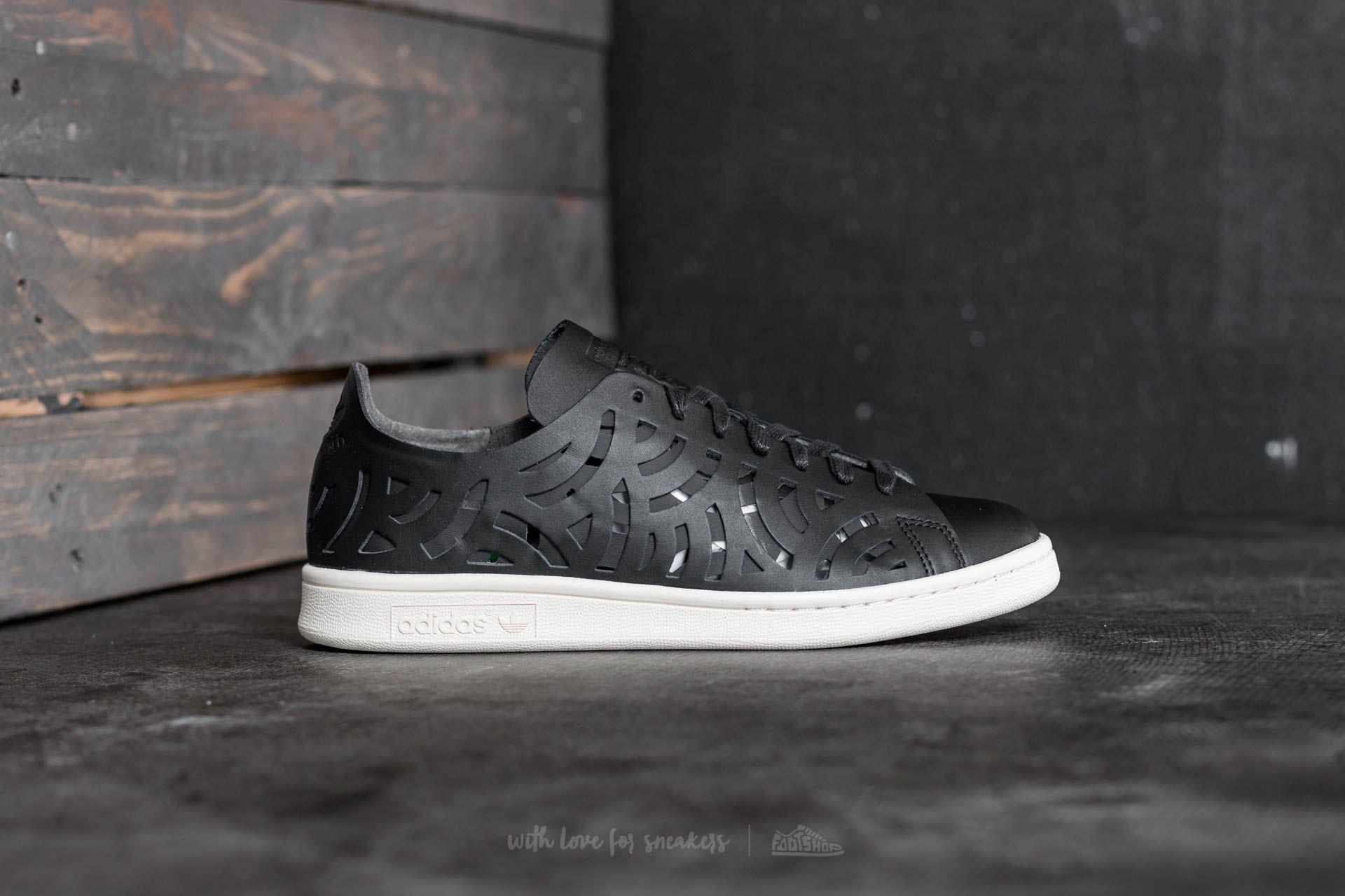 Lyst - adidas Originals Adidas Stan Smith Cutout W Core Black  Core ... 78705a164