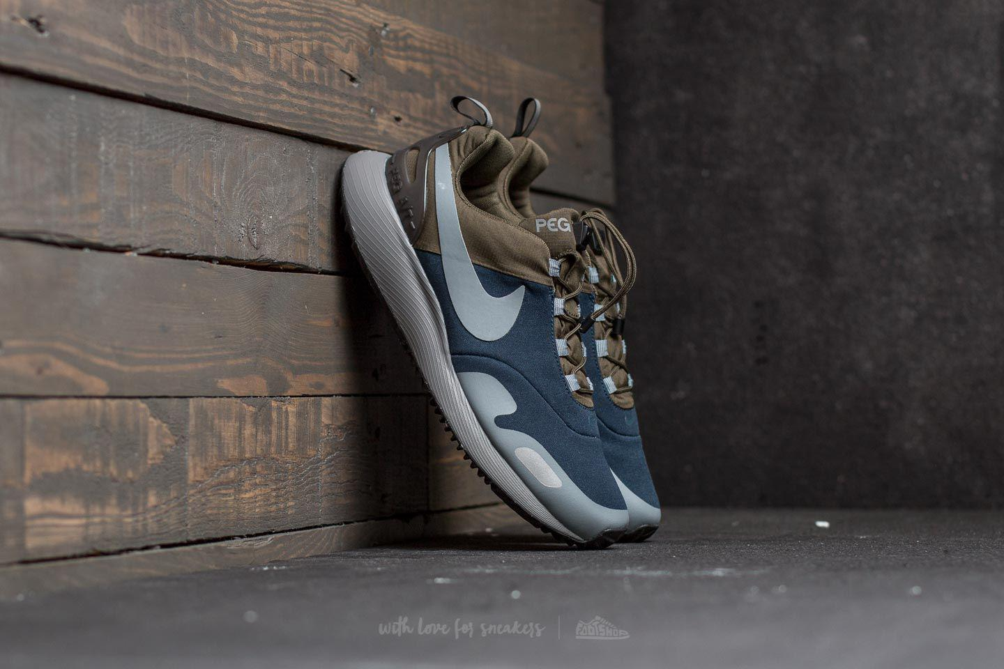 Nike. Men's Gray Air Pegasus A/t Cargo Khaki/ Cool Grey