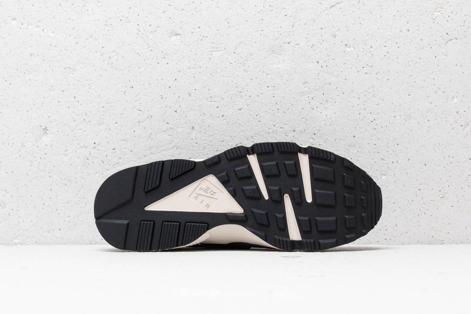 purchase cheap 86a26 fbe63 Nike Air Huarache Run Premium Anthracite  Black-light Bone in Black ...