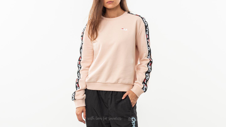 4347dfffc071 Lyst - Fila Tivka Crew Sweater Cameo Rose