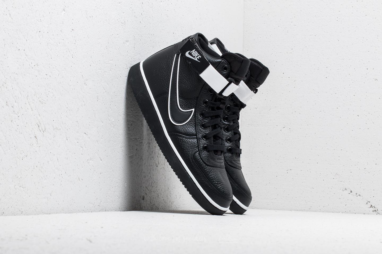 2ca7551a29f Lyst - Nike Vandal High Supreme Leather Black  Black-white in Black ...