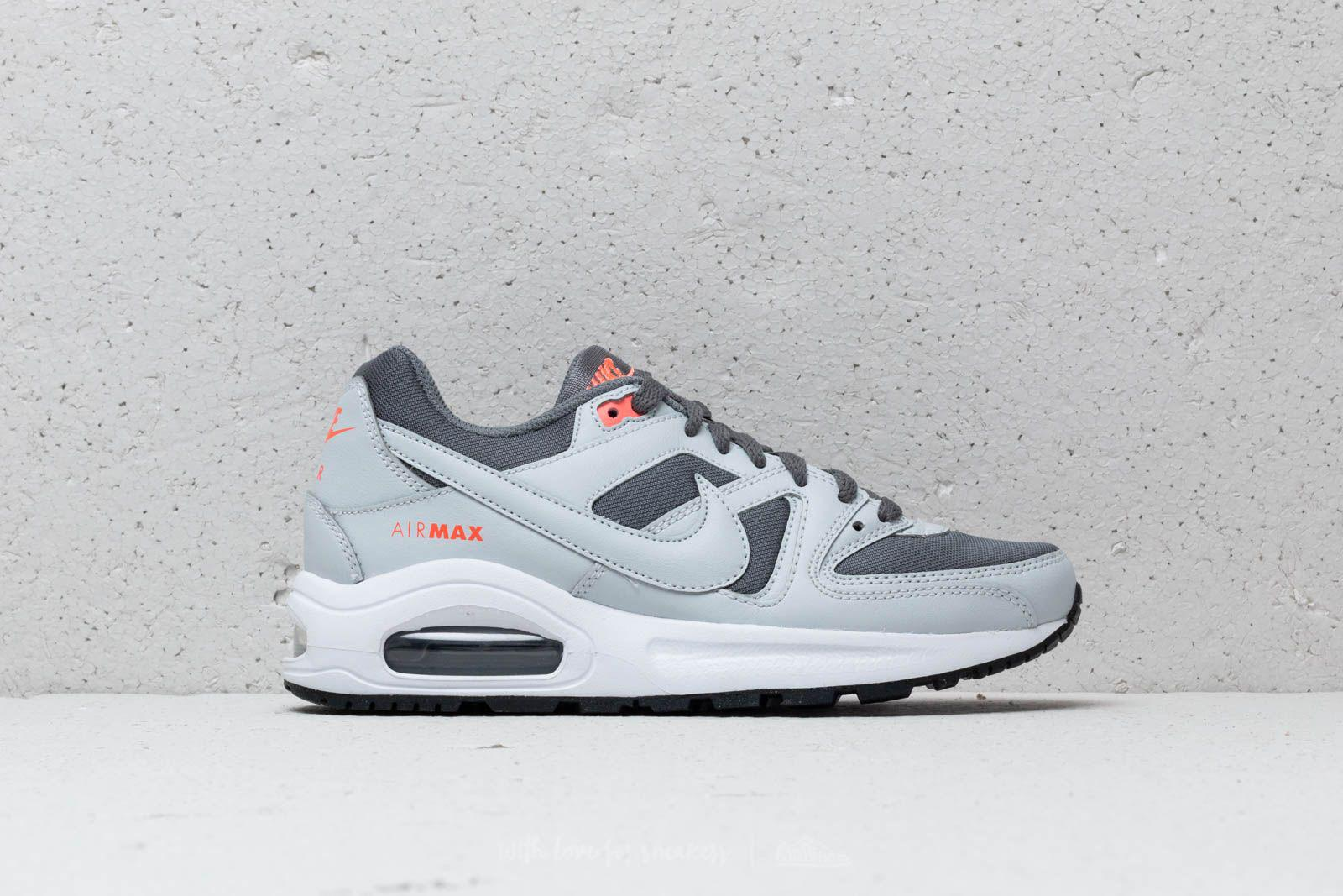 6cece21160 Nike Air Max Command Flex (gs) Cool Grey/ Pure Platinum in Gray - Lyst