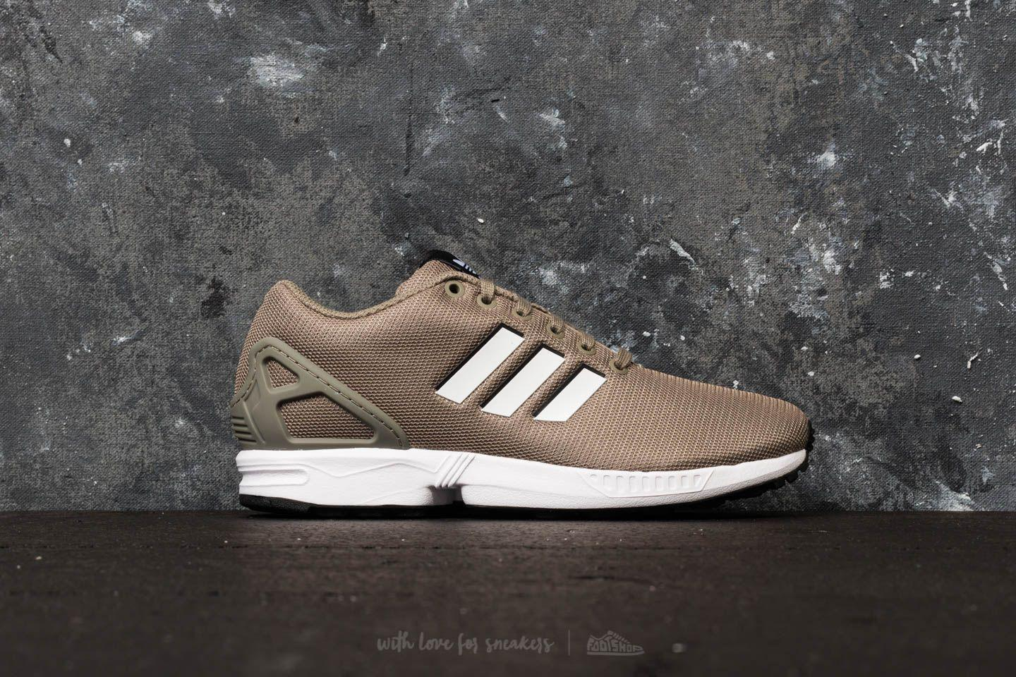 9a4f05241 Lyst - adidas Originals Adidas Zx Flux Trace Cargo  Ftw White  Core ...
