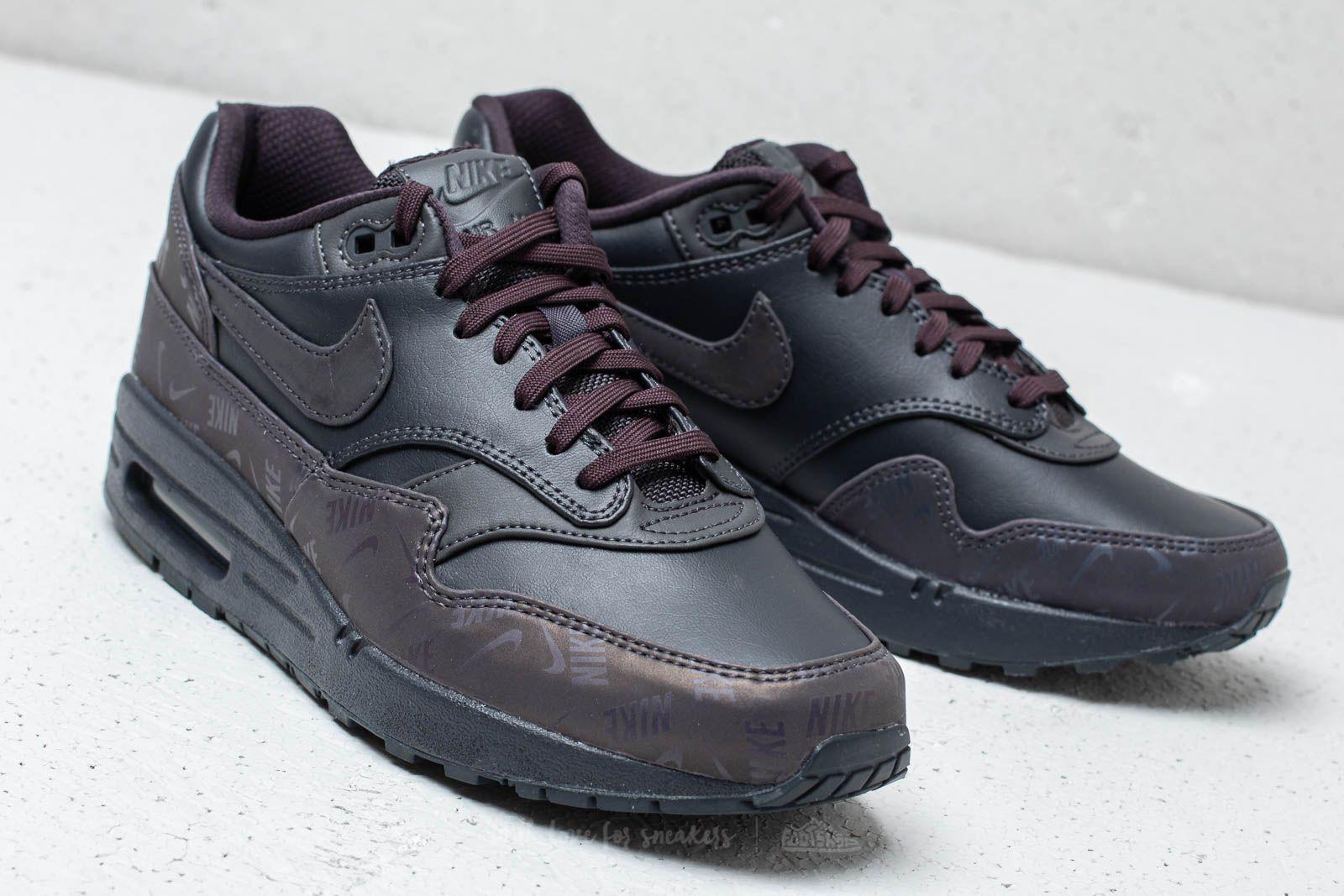 half off 78faf d0c5d Nike - Gray Wmns Air Max 1 Lx Oil Grey Oil Grey-oil Grey. View fullscreen