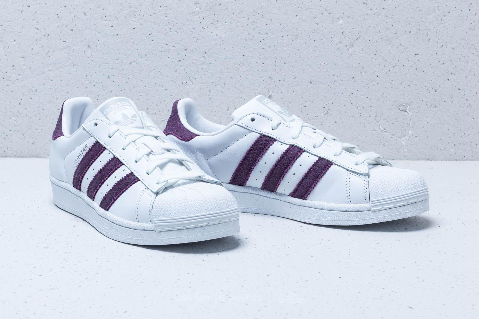 6e7c95d0ca16 Lyst - adidas Originals Adidas Superstar W Ftw White  Red Night ...