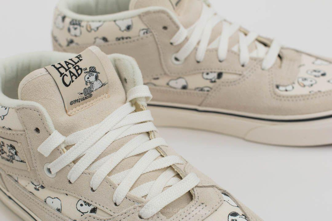 c564573942 Lyst - Vans X Peanuts Half Cab Snoopy Family  Marshmallow for Men