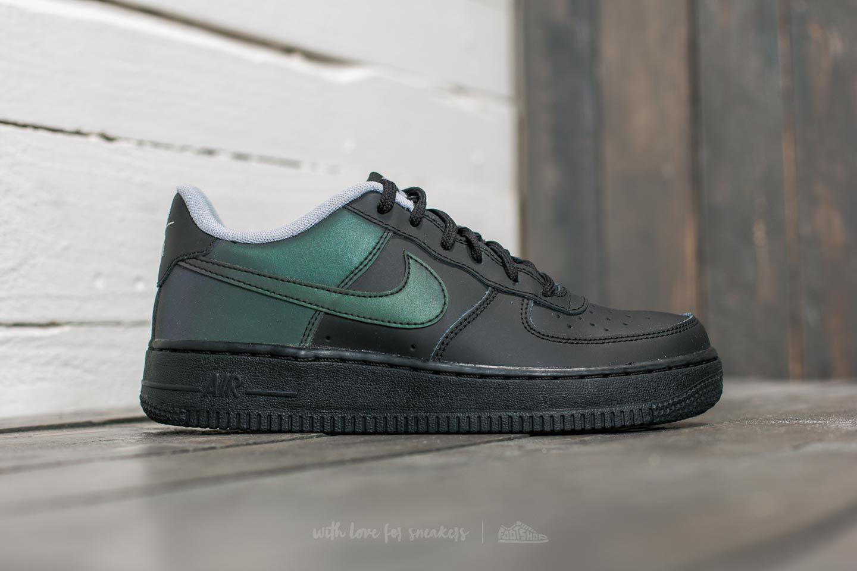 Lyst - Nike Air Force 1 Lv8 (gs) Black  Black  Wolf Grey in Black ... a799704eb703