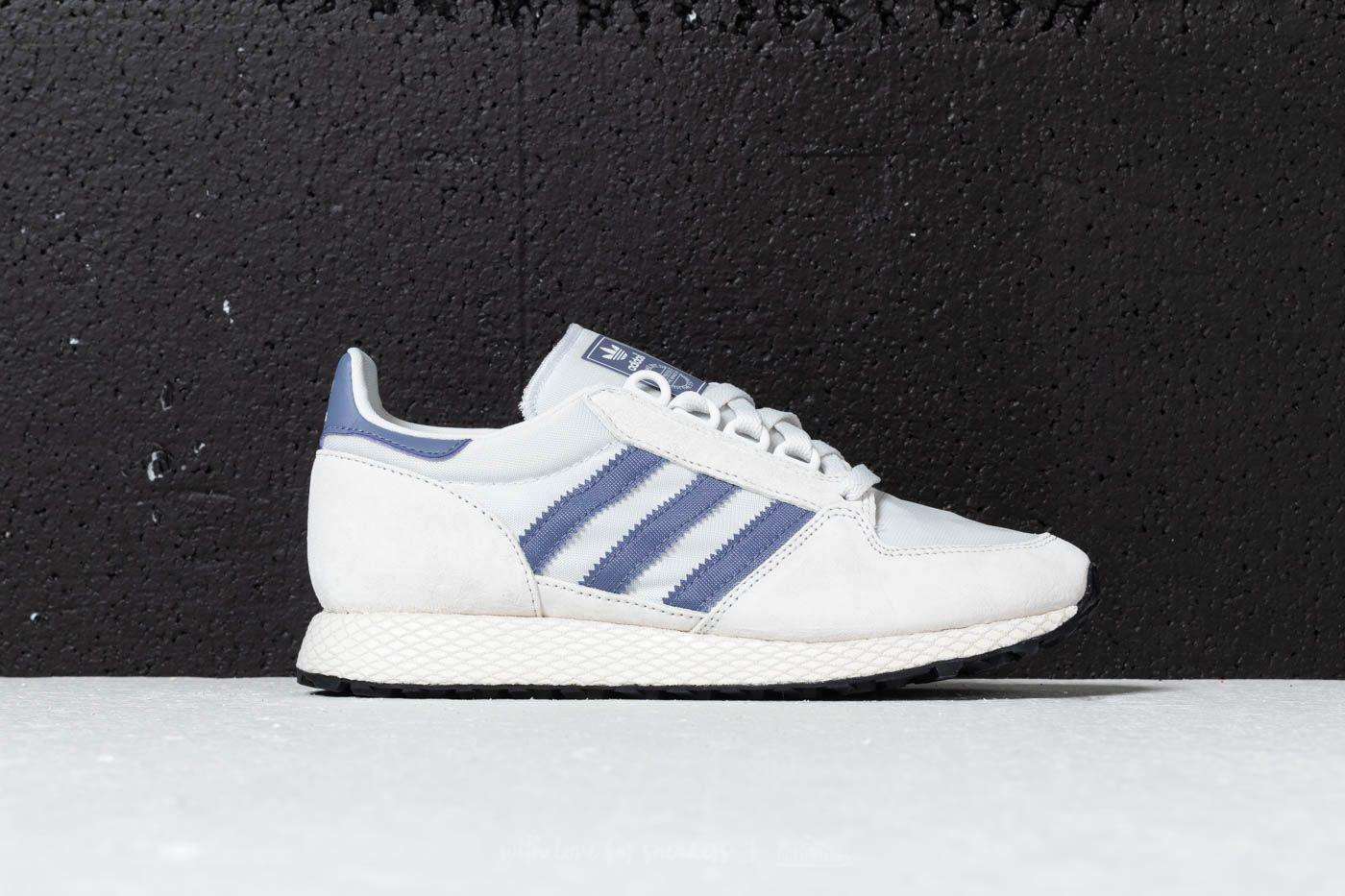 buy popular 647ce d9d3e Lyst - adidas Originals Adidas Forest Grove W Crystal White