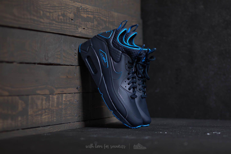 51e96fcc22 Nike Air Max 90 Ultra Mid Winter Se Obsidian/ Obsidian-thunder Blue ...