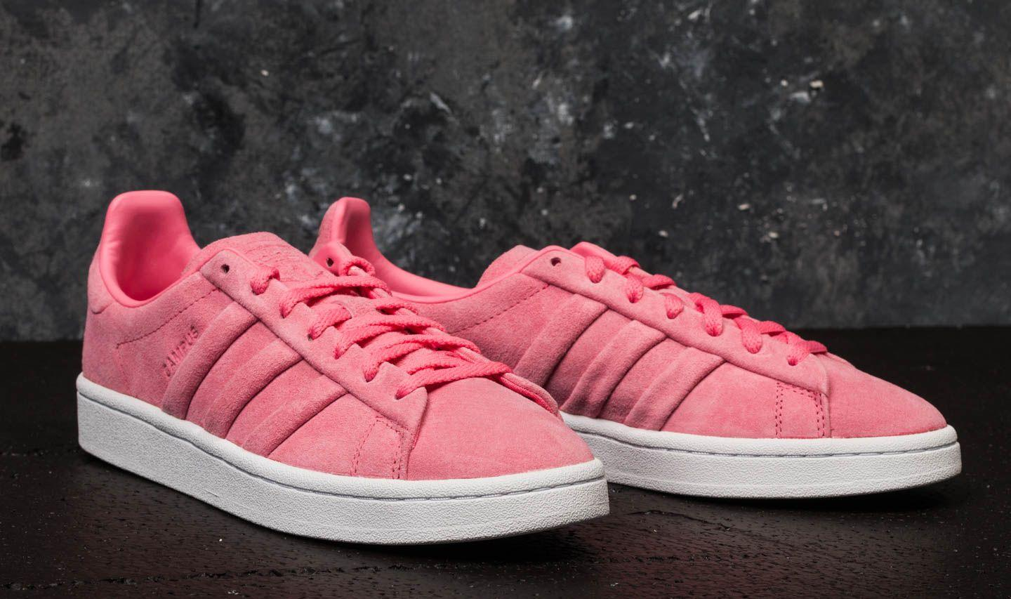 dad33a6e9815d Lyst - adidas Originals Adidas Campus Stitch And Turn W Chalk Pink ...