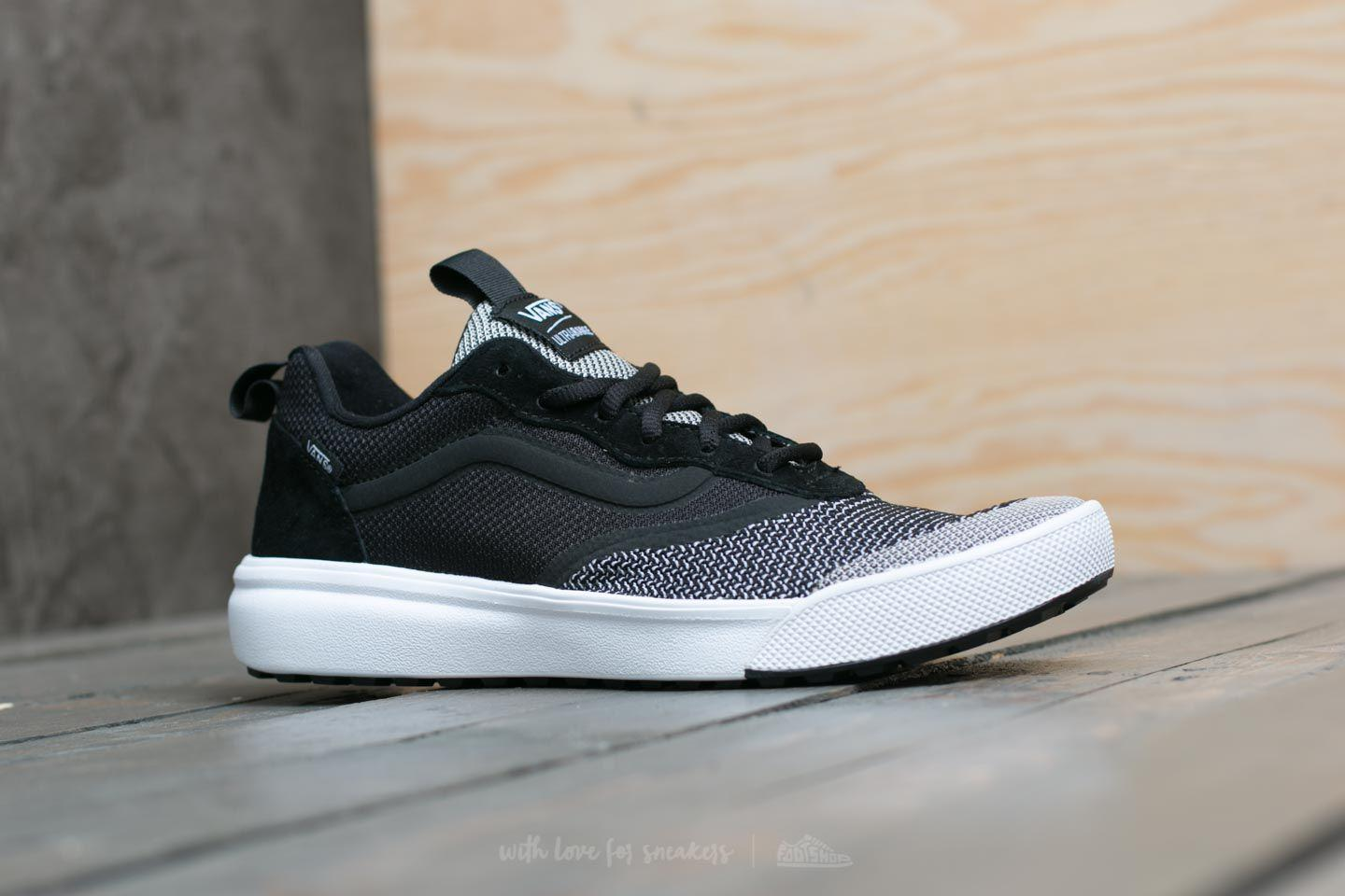 55813fc816d0b6 Lyst - Vans Ultrarange Dx (yc Knit) Black  True White in Black for Men