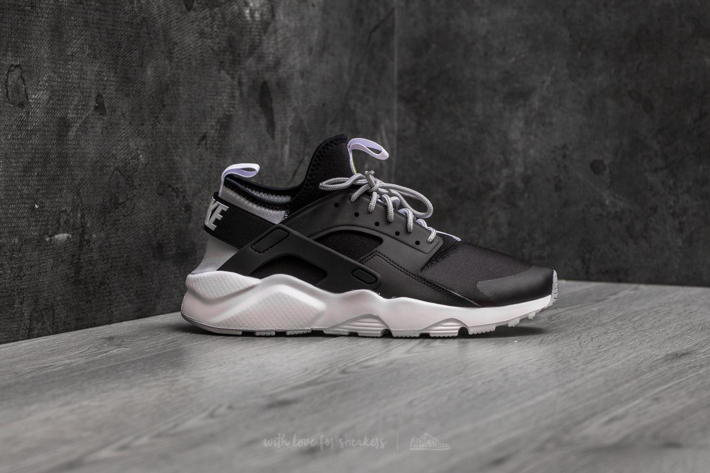 2ac1bf87d7ef Lyst - Nike Air Huarache Run Ultra Black  White-wolf Grey in Gray ...