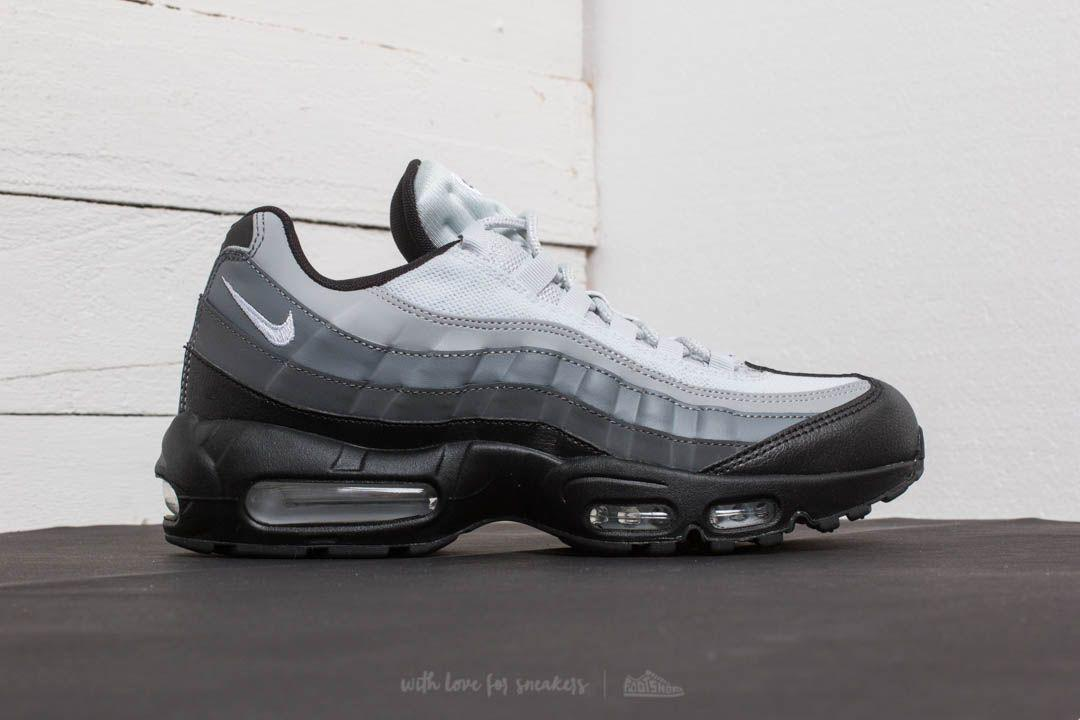 purchase cheap 6a128 76f82 Nike Air Max 95 Essential Black  White-dark Grey in Gray for Men - Lyst