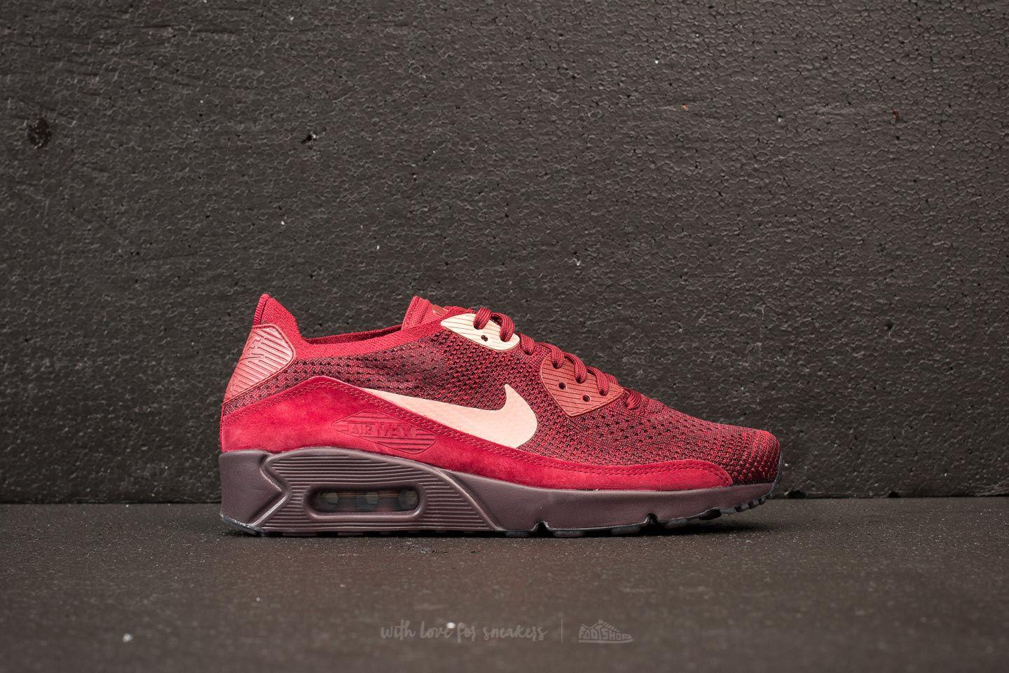 newest b7cb3 e3d4d Gallery. Previously sold at  Footshop · Men s Nike Flyknit Men s Air Max 90  Sneakers