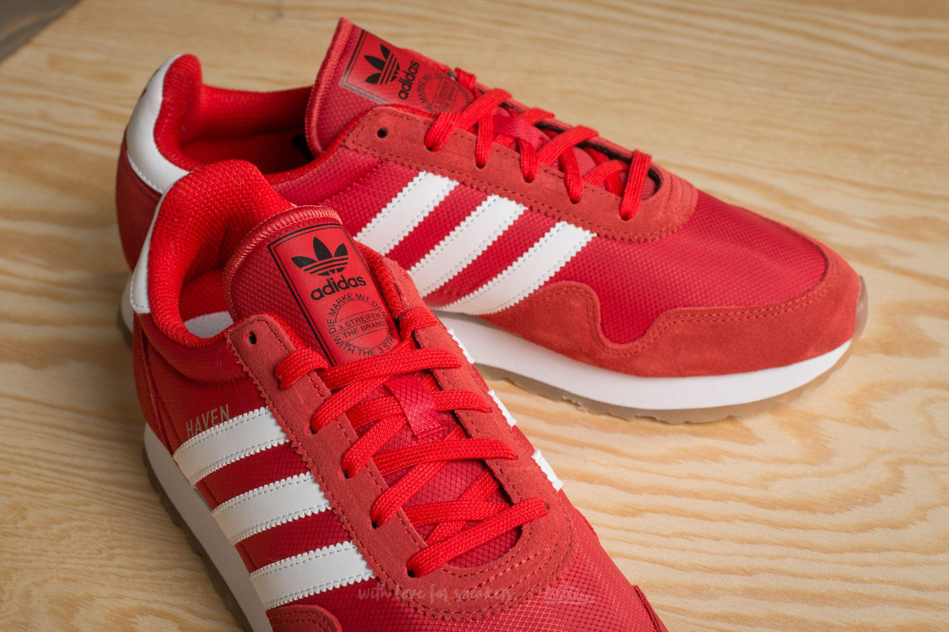 Lyst - adidas Originals Adidas Haven Red  Ftw White  Gum in Red for Men 04dd06f3c