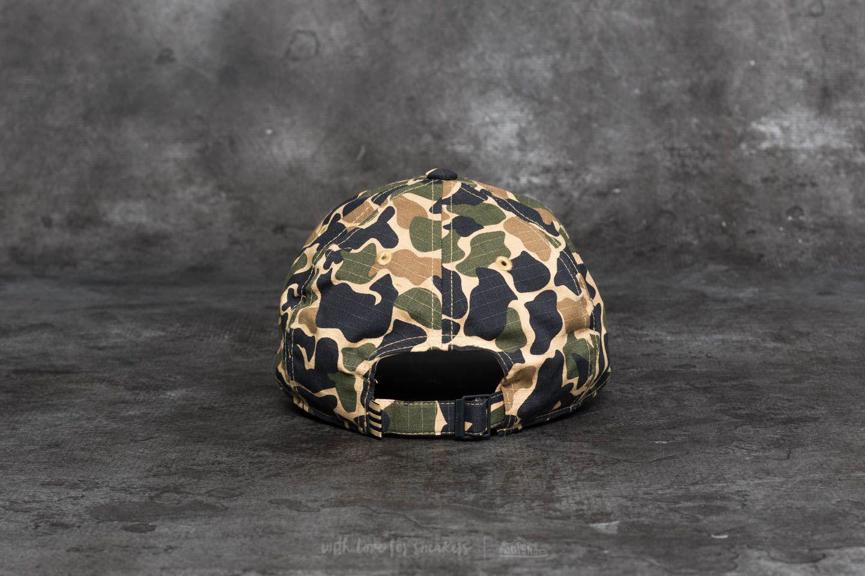 8ad9495b740 Lyst - adidas Originals Adidas Camo Baseball Cap Dark Sahara