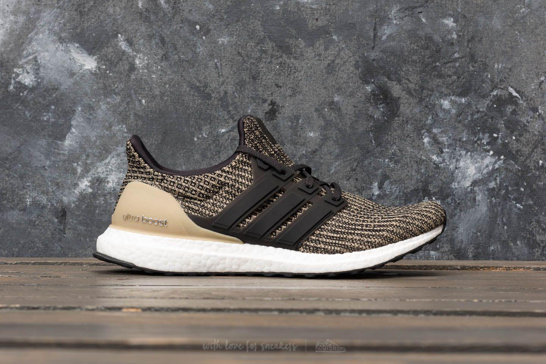 f7351061e Lyst - Footshop Adidas Ultraboost Core Black  Core Black  Raw Gold ...