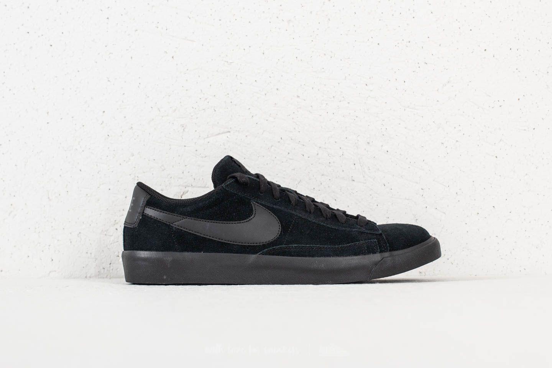 da1876d0b8ca Lyst - Nike Blazer Low Le Black  Black in Black for Men