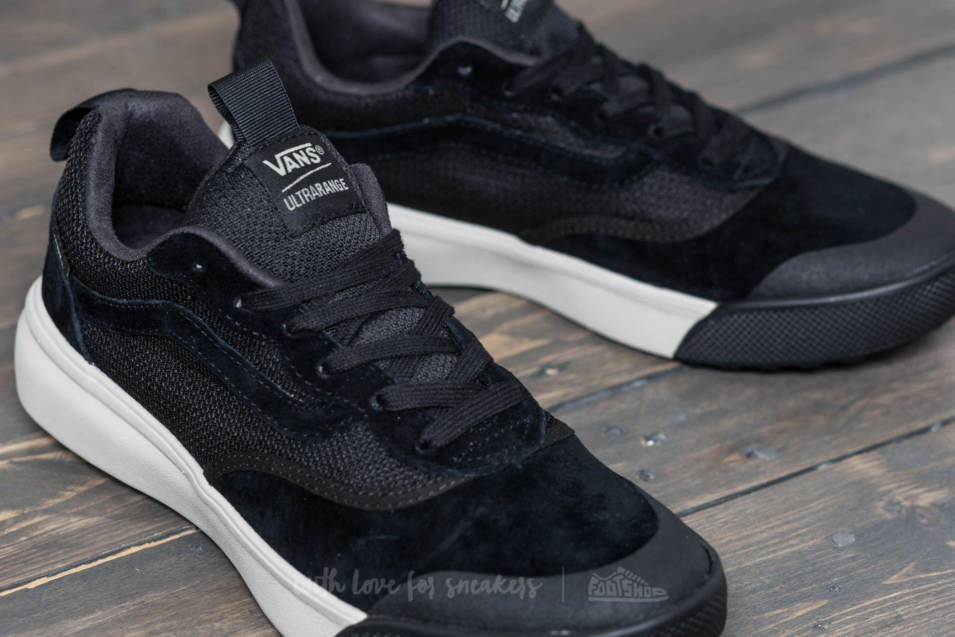 vans ultrarange mte black
