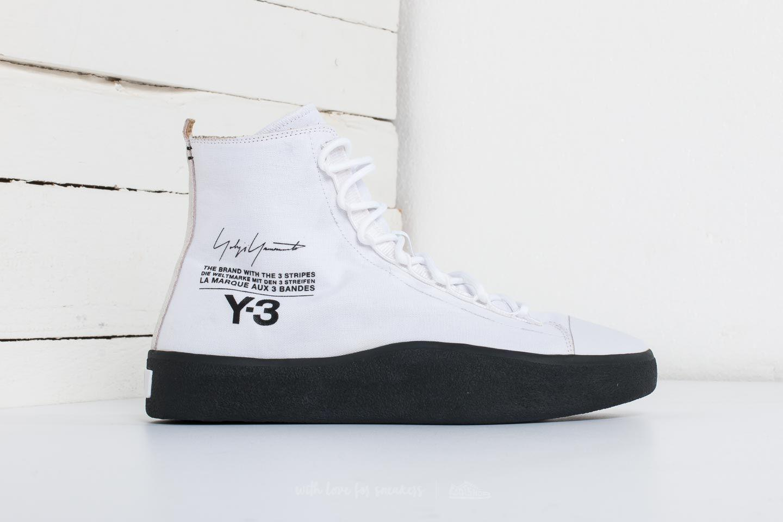 e7aebf8af9 Lyst - Y-3 Bashyo Footwear White  Core Black  Core Black in Black ...
