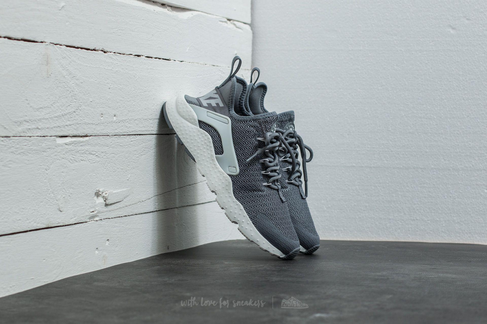 bcdbd98b1529d Lyst - Nike W Air Huarache Run Ultra Cool Grey  Pure Platinum in Gray