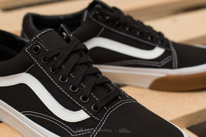 070d7c7001 Lyst - Vans Old Skool (gum Bumper) Black  True White in Black for Men