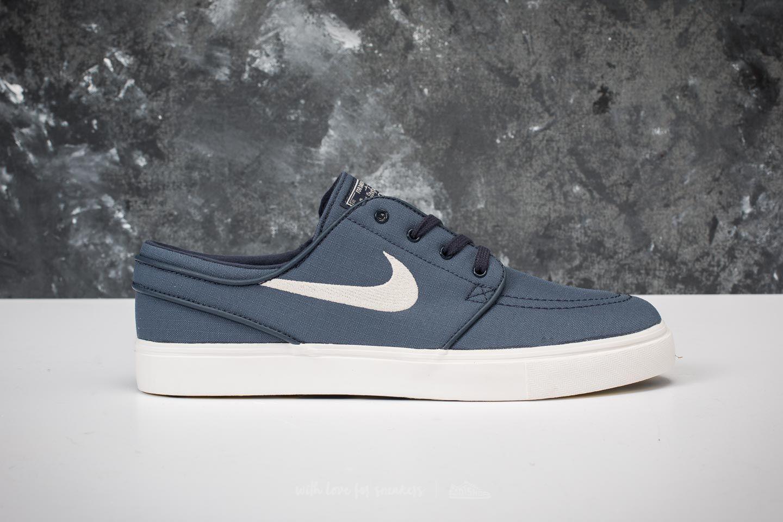 1ccc49b553dd Lyst - Nike Zoom Stefan Janoski Canvas Thunder Blue  Light Bone in ...