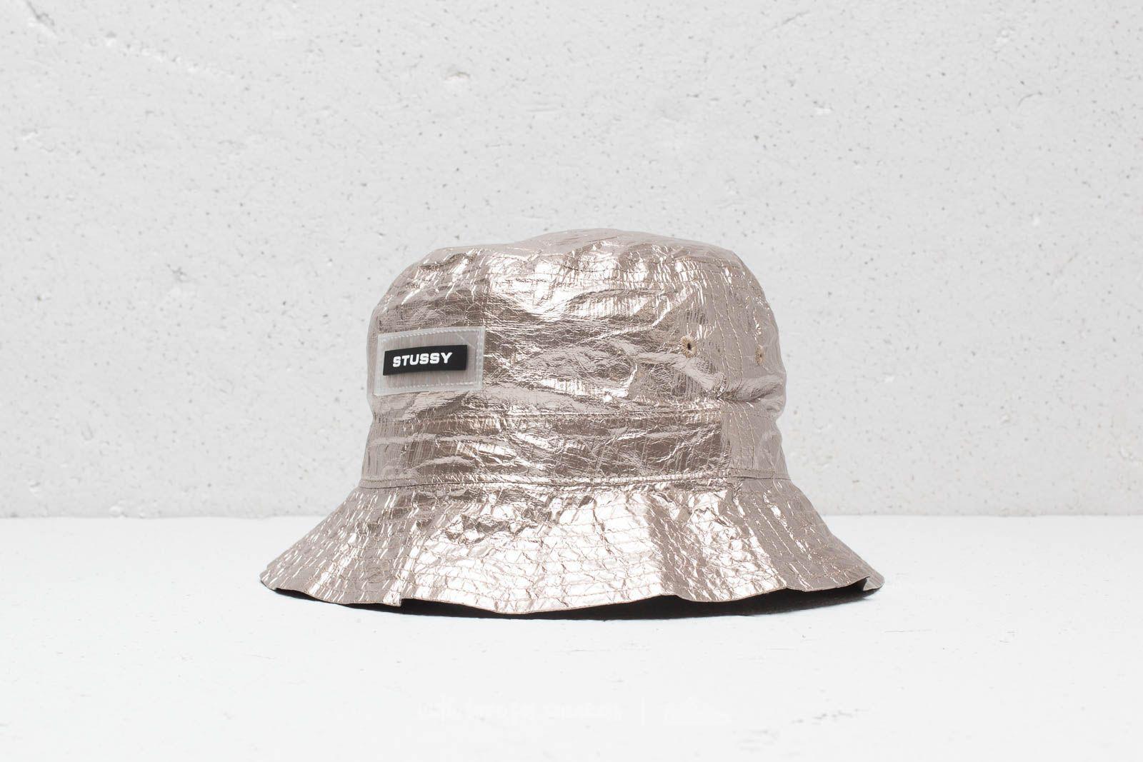 4510f7fcb74 Lyst - Stussy Vera Bucket Hat Silver