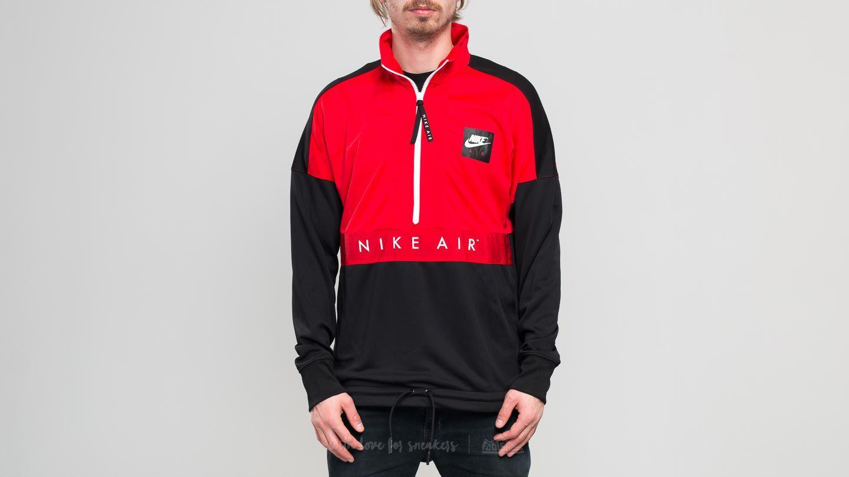 436b0e13bacf Lyst - Nike Sporstwear Top Air Longsleeve Half-zip Top University ...