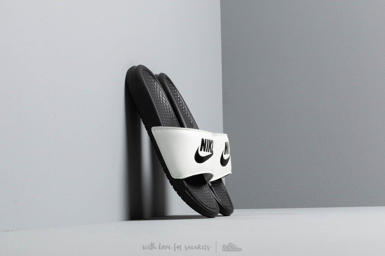 77a24717cf2d Lyst - Nike Wmns Benassi Jdi Spruce Aura  Black-black in Black