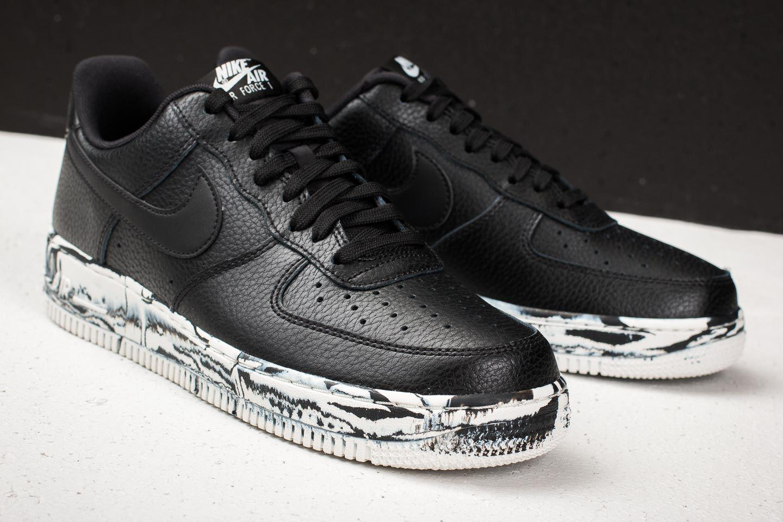 cbe7e0a810 Nike Air Force 1 '07 Lv8 Leather Black/ Black-summit White in Black ...