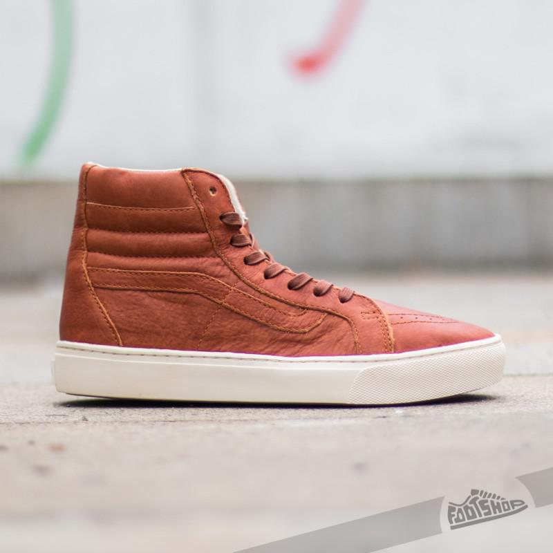 eb34a4ee93 Lyst - Vans Sk8-hi Cup California Leather Henna  Turtledove for Men