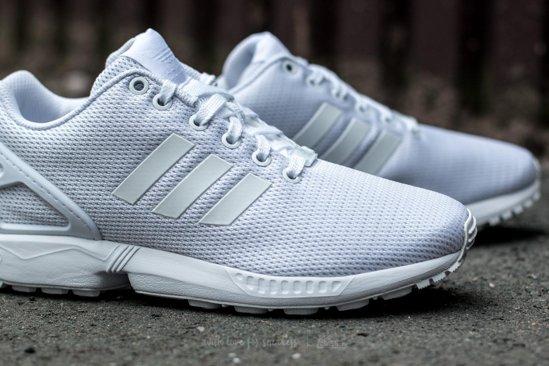 newest collection fb230 b0742 Lyst - adidas Originals Adidas Zx Flux Ftw White  Ftw White  Cool ...