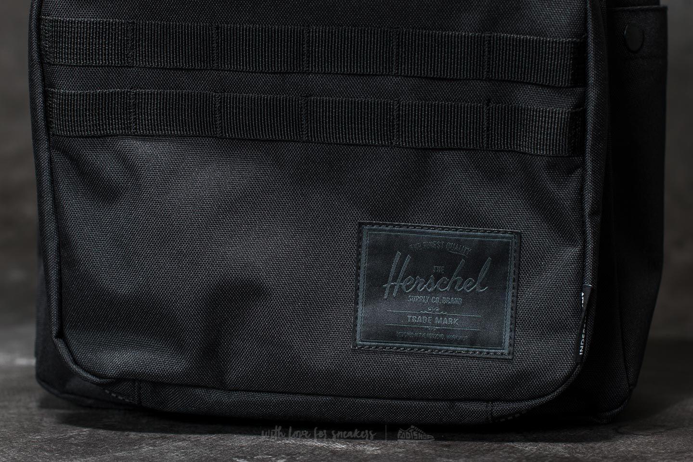 82845b72944 Lyst - Herschel Supply Co. Independent Pop Quiz Backpack Black  Logo ...