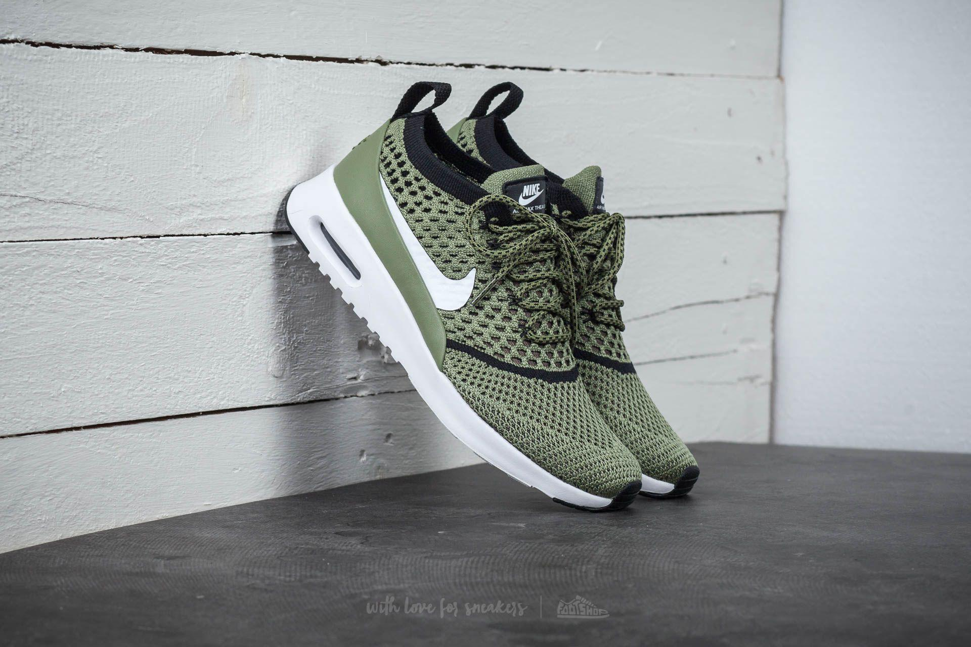 46500934d3 Nike Wmns Air Max Thea Ultra Flyknit Palm Green/ White-black in ...