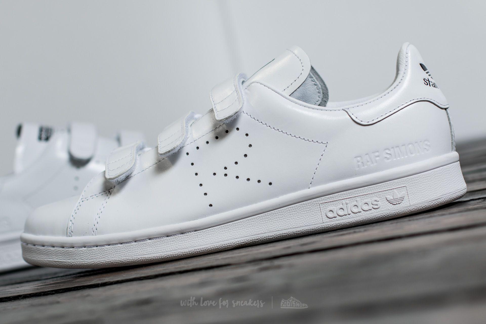 8e1c6152161bc Lyst - Footshop Adidas X Raf Simons Stan Smith Comfort Ftw White ...