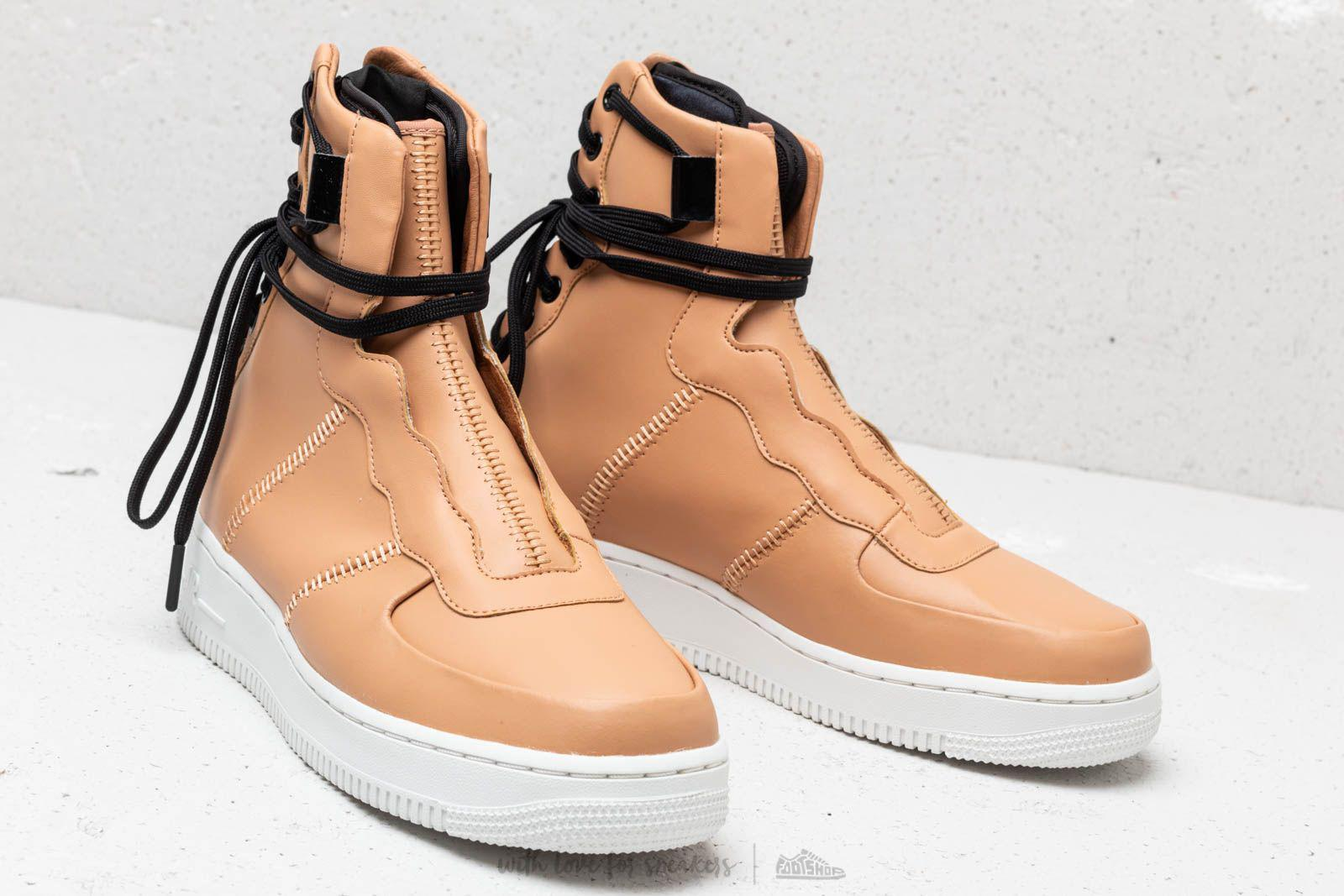sale retailer 82522 a59de Lyst - Nike Wmns Air Force 1 Rebel Xx Praline  Black Summit  White
