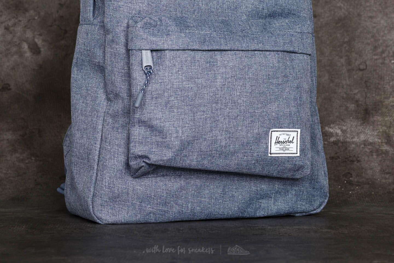 77ec8caa3ab Lyst - Herschel Supply Co. Classic Backpack Dark Chambray Crosshatch ...