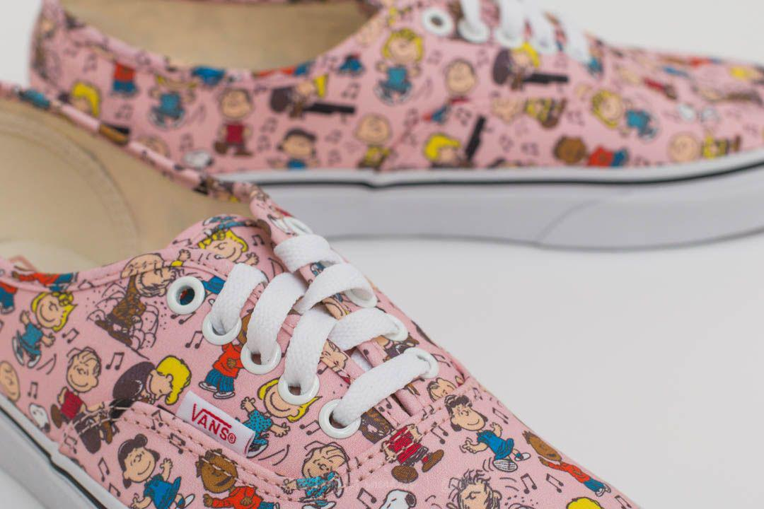 c7796cd5cba Lyst - Vans X Peanuts Authentic Dance Party  Pink in Pink