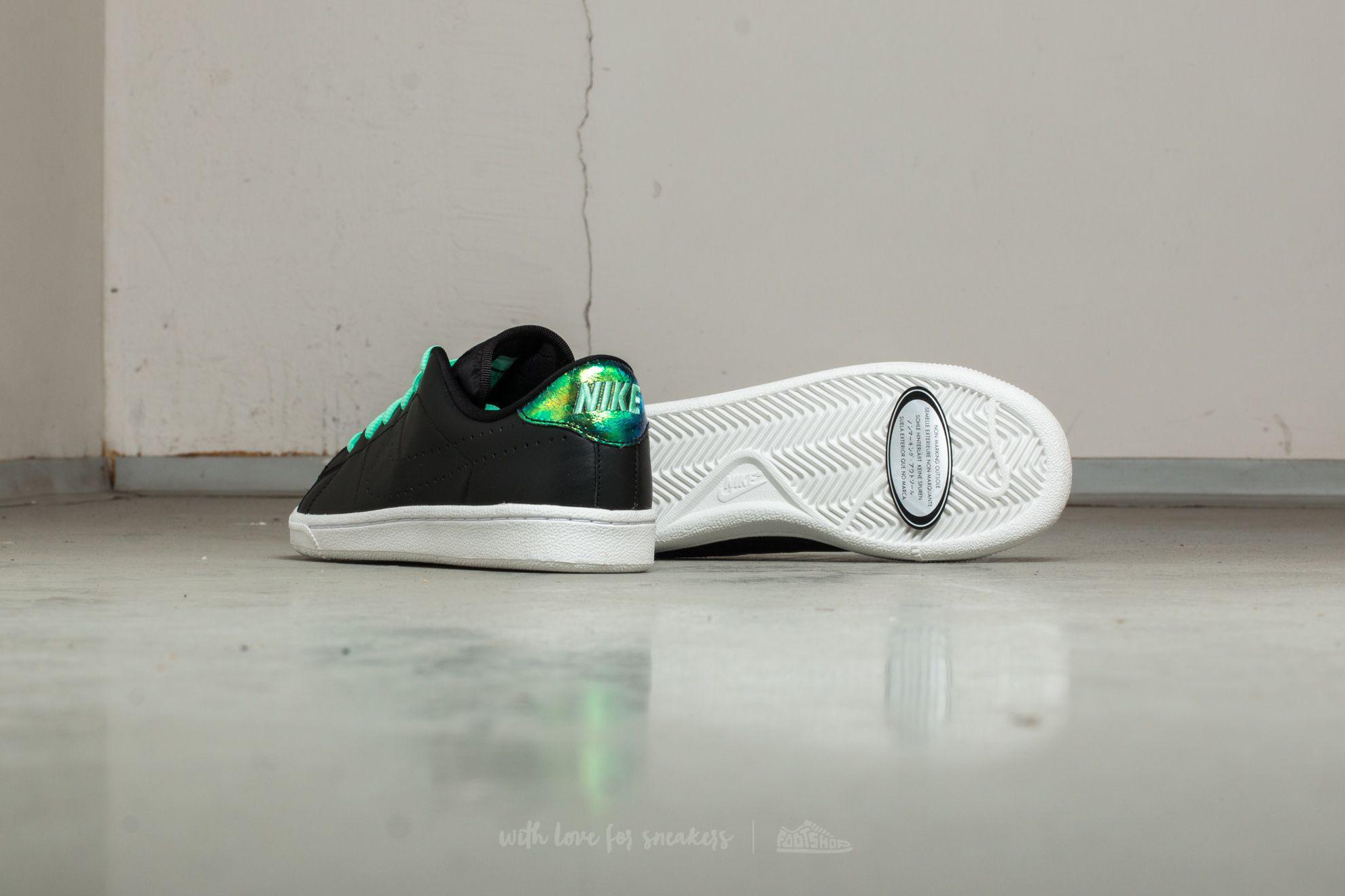 Nike Tennis Classic Premium SE (GS) Anthracite/ Green/ Glow-White YFrtUWiiA