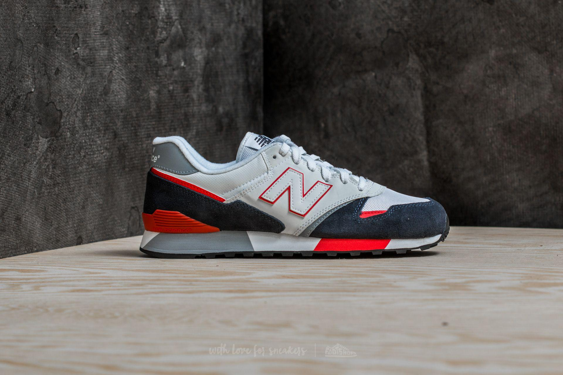 3a5f575930db ... switzerland lyst new balance 446 white navy red for men a73bb 89677