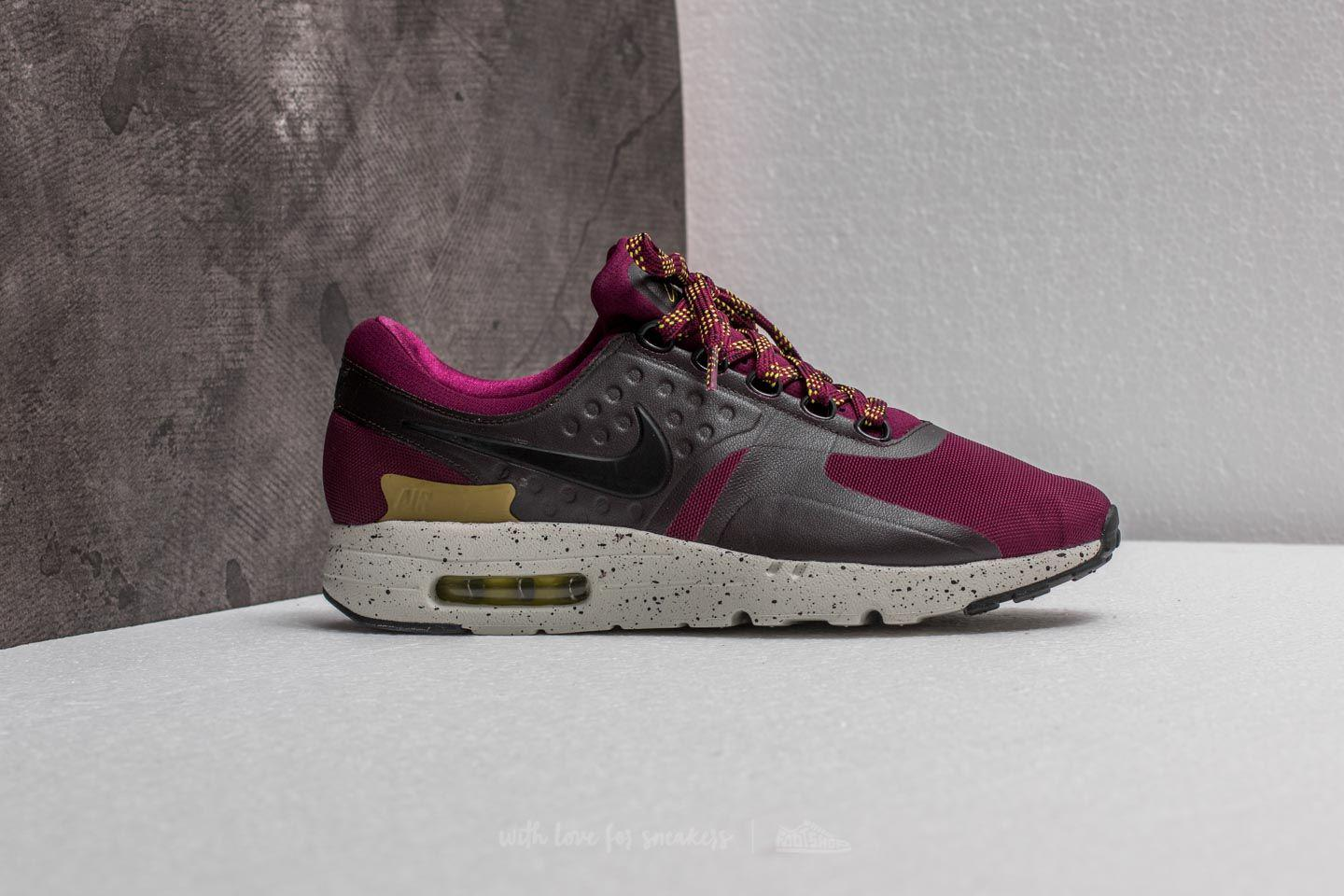 23fdb1391b Nike Air Max Zero Se Bordeaux/ Black-velvet Brown for Men - Lyst