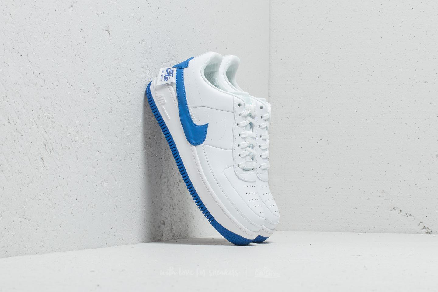 best service 1fb9b 1626f Nike Air Force 1 Jester Xx Wmns White  Game Royal in White - Lyst